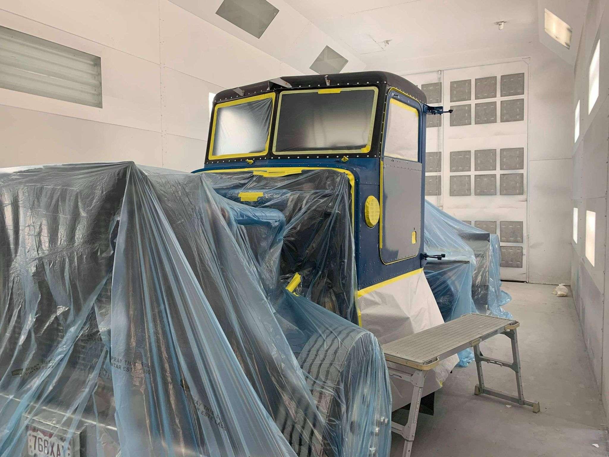 semi paint prep